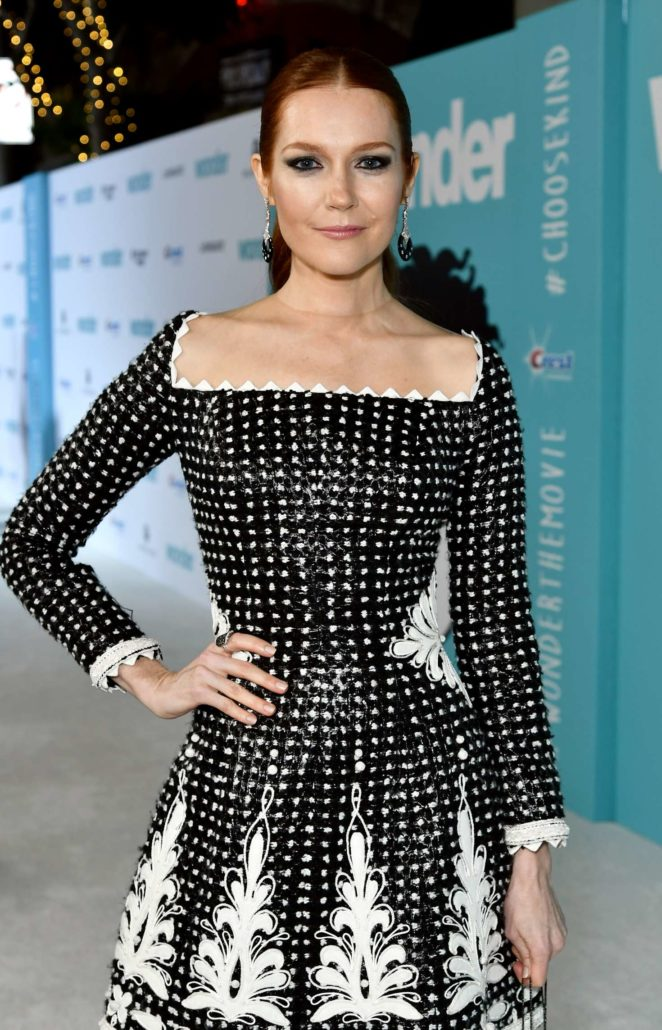 Darby Stanchfield - 'Wonder' Premiere in Westwood