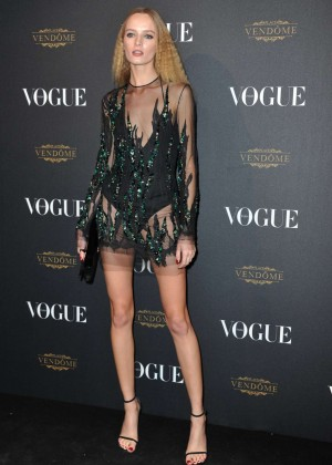 Daria Strokous - Vogue 95th Anniversary Party in Paris