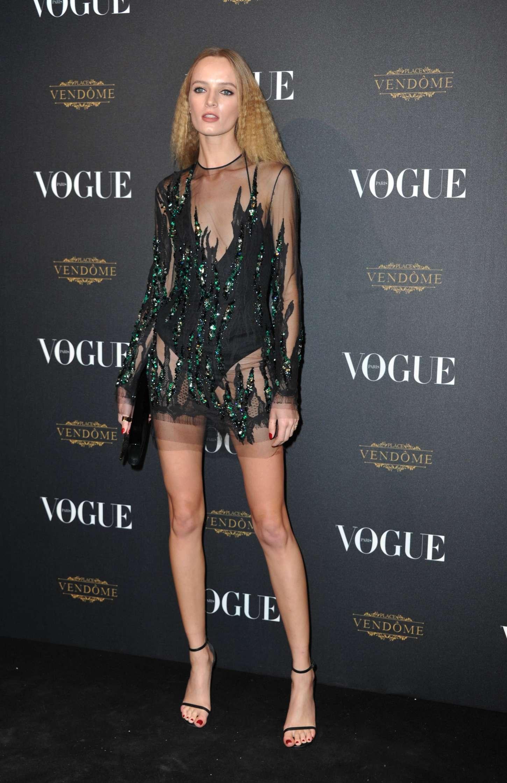 Daria Strokous Vogue 95th Anniversary Party In Paris
