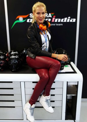 Darya Klishina - F1 2015 Russian Grand Prix at Sochi Autodrom