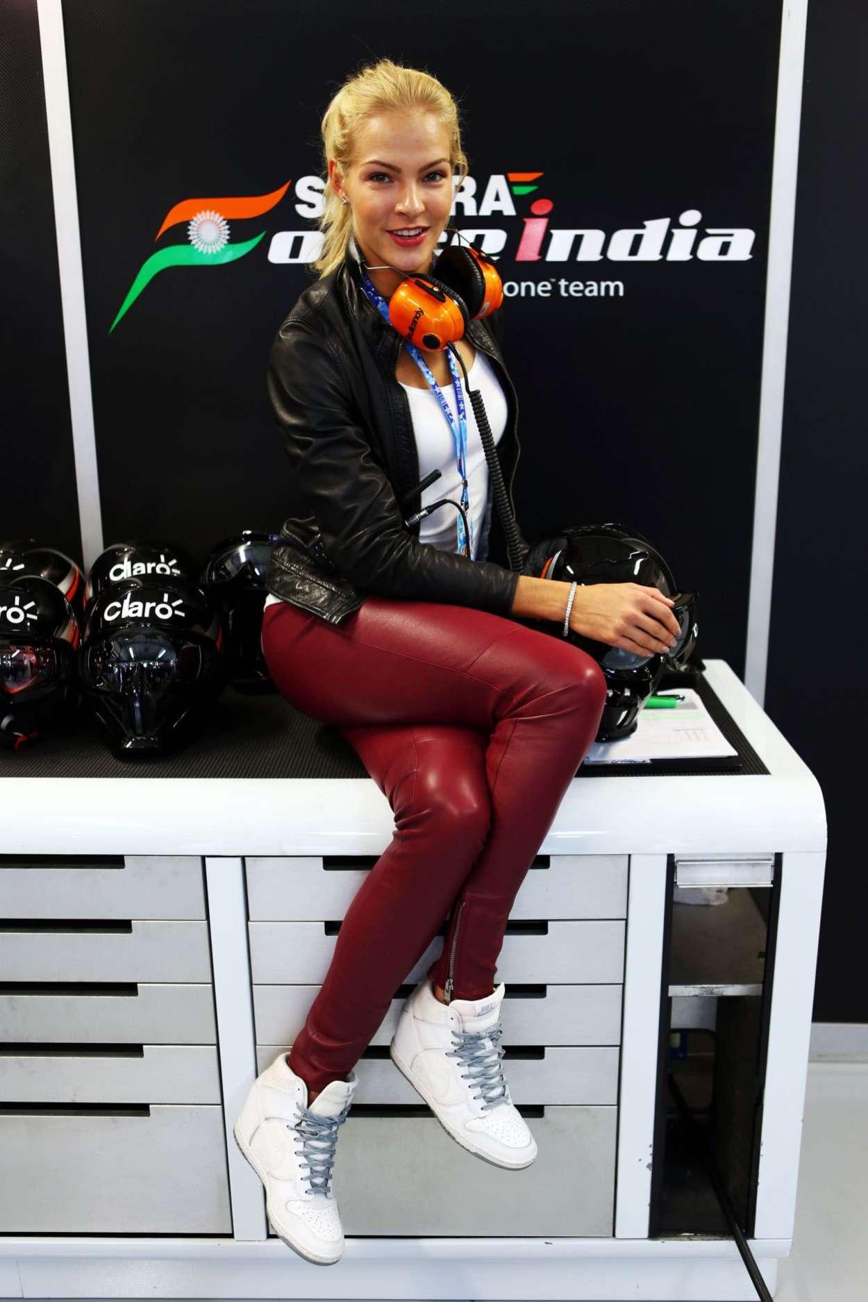 Darya Klishina - F1 2015 Russian Grand Prix at Sochi Autodrom