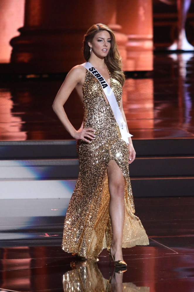Dasa Radosavljevic - Miss Universe 2015 Preliminary Round in Las Vegas