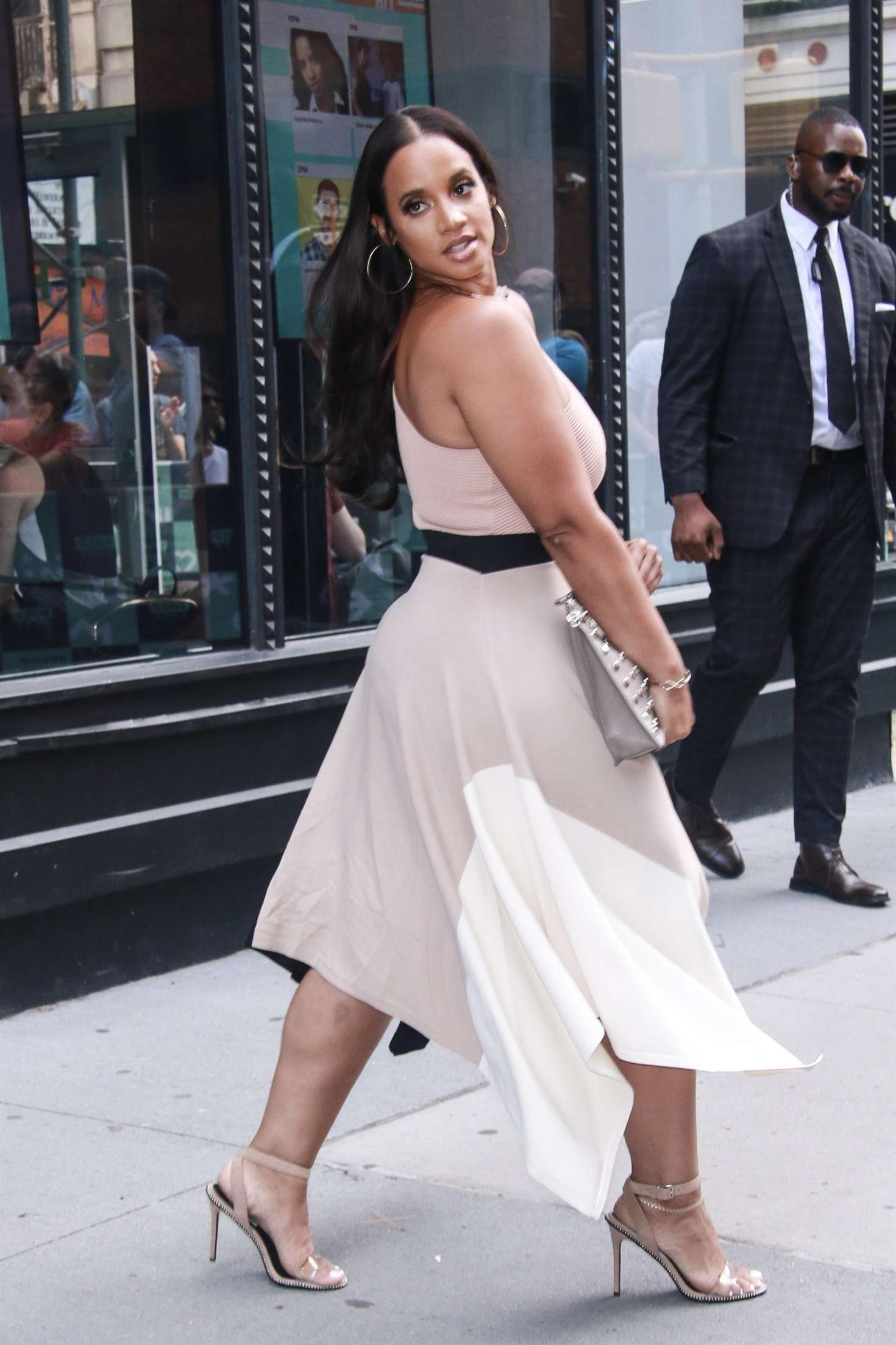 Dascha Polanco 2018 : Dascha Polanco at AOL Build Series -06