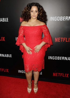 Dascha Polanco - 'Ingobernable' TV Series Premiere in Mexico City
