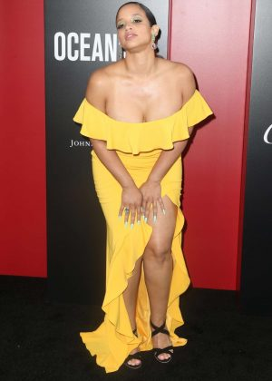 Dascha Polanco - 'Ocean's 8' Premiere in New York City
