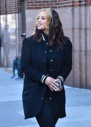 Dascha Polanco out in Manhattan