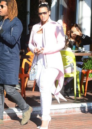 Dascha Polanco - Shopping at Fred Segal in West Hollywood