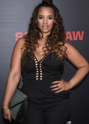 Dascha Polanco - 'Southpaw' Premiere in NYC