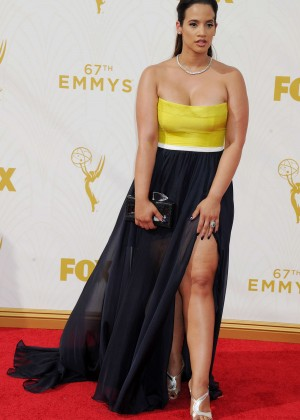 Dascha Polanco - 2015 Emmy Awards in LA