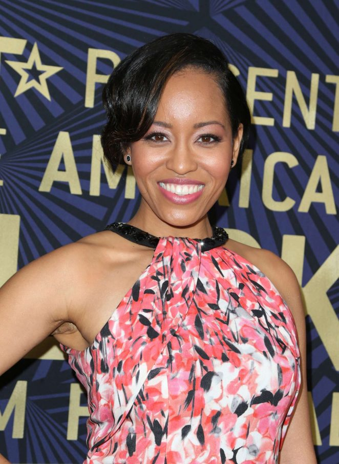 Dawn-Lyen Gardner - BET's 2017 American Black Film Festival Honors Awards in LA