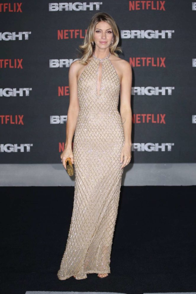 Dawn Olivieri – 'Bright' Premiere in London