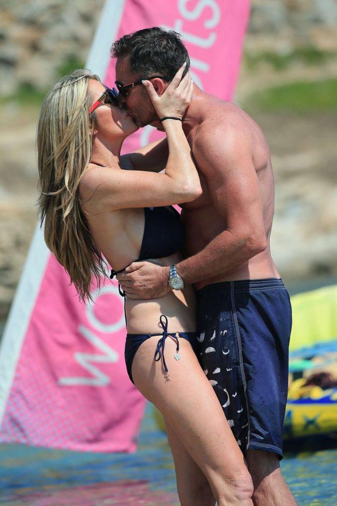 Dawn Ward in Bikini on holiday in Ibiza