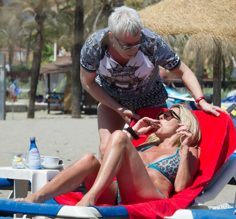 Dawn Ward 2017 : Dawn Ward: Wearing Bikini in Marbella-12