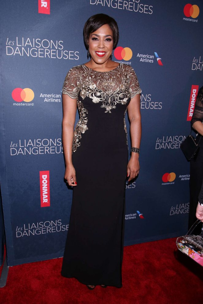 De'Adre Aziza - Opening night of Les Liaisons Dangereuses in New York