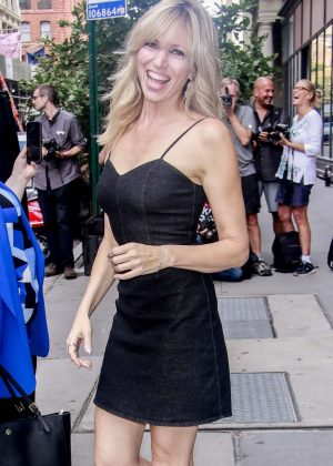 Debbie Gibson - Arriving at AOL Build Series in New York City