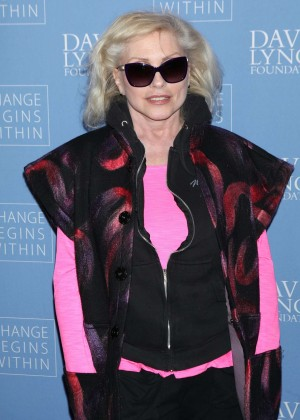 Debbie Harry - David Lynch Foundation Benefit for Veterans with PTSD in New York