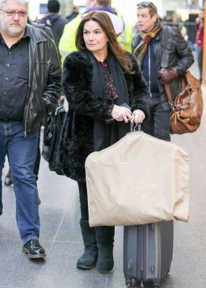 Debbie Rush - Arriving at Train Station in Manchester