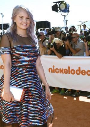 Debby Ryan: 2015 Nickelodeon Kids Choice Awards -04
