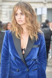Debby Ryan - Arriving to the Elie Saab Fashion Show in Paris