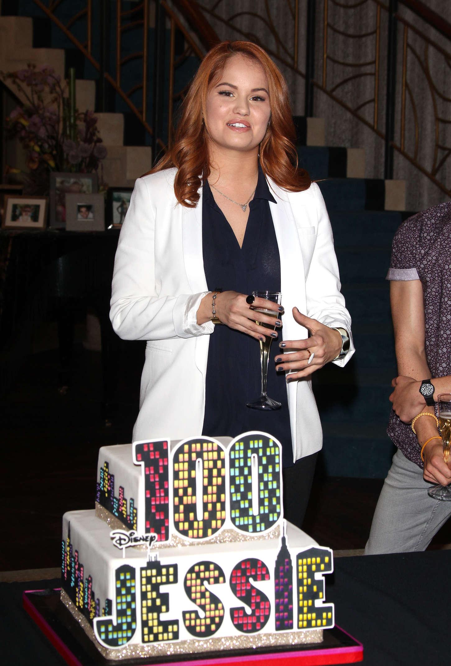 Debby Ryan Jessie 100th Episode Celebration 04 Gotceleb