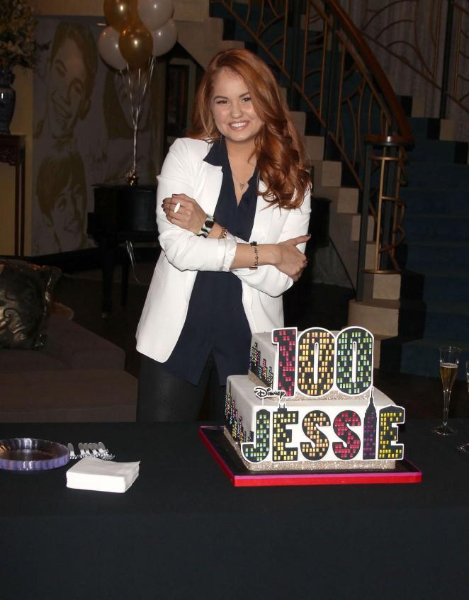 Debby Ryan Jessie 100th Episode Celebration 11 Gotceleb