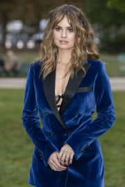 Debby Ryan - Elie Saab Womenswear SS 2020 Show at Paris Fashion Week