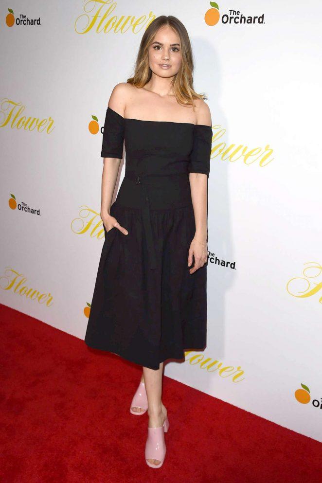 Debby Ryan - 'Flower' Premiere in Los Angeles