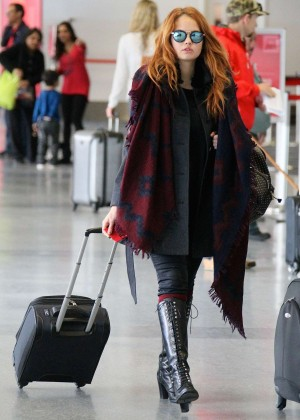 Debby Ryan - LAX Airport in LA