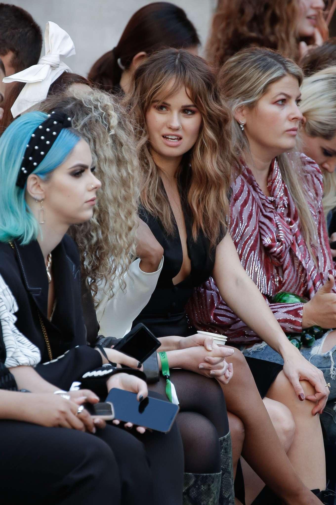 Debby Ryan - Le Defile LOreal Paris Show at Paris Fashion ...