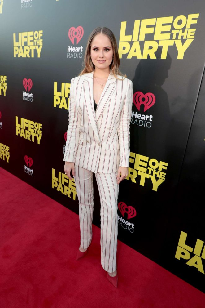 Debby Ryan - 'Life of the Party' Premiere in Auburn