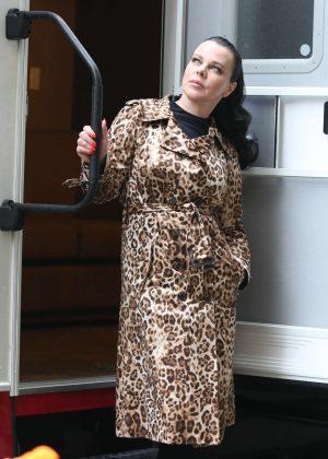 Debi Mazar on 'Younger' set in New York