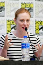 Deborah Ann Woll - All Things RPG-E: Geek and Sundry Panel at Comic-Con International in San Diego