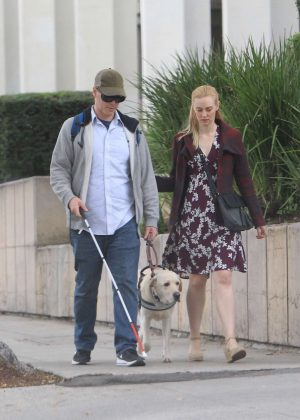 Deborah Ann Woll and E.J. Scott - Christmas Shopping in Beverly Hills