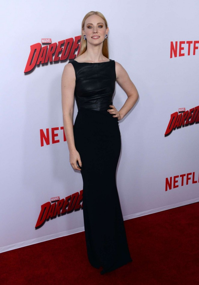 "Deborah Ann Woll - ""Daredevil"" Premiere in LA"