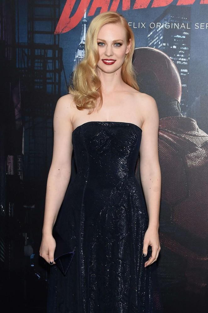 Deborah Ann Woll - 'Daredevil' Season 2 Premiere in New York