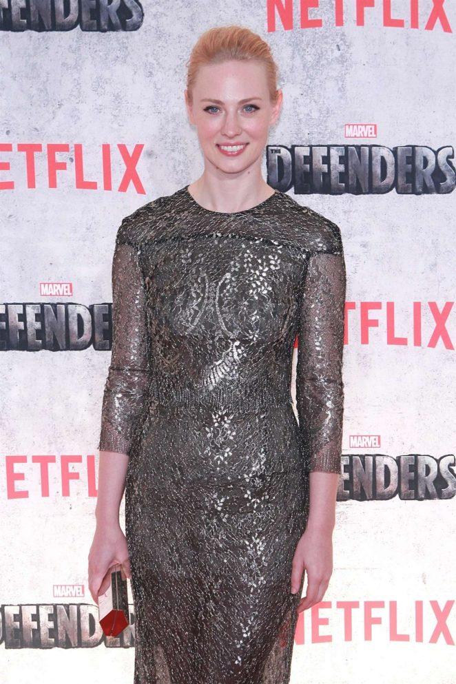 Deborah Ann Woll - 'The Defenders' Premiere in New York