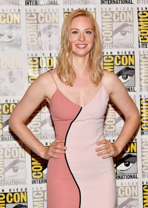 Deborah Ann Woll - The Defenders Press Line at 2017 Comic-Con in San Diego