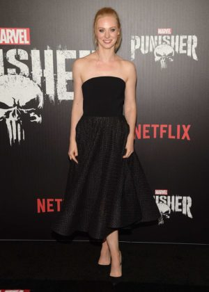 Deborah Ann Woll - 'The Punisher' Premiere in NYC