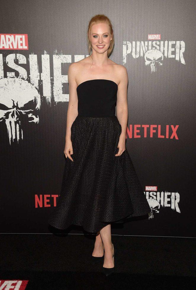 Deborah Ann Woll – 'The Punisher' Premiere in NYC
