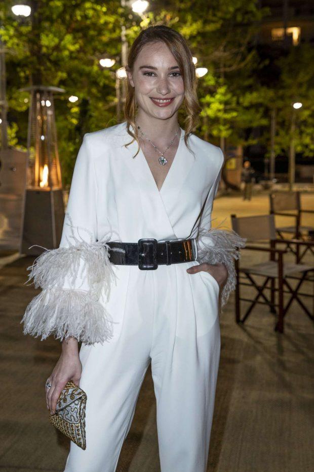 Deborah Francois - Dior x Vogue Party at 2019 Cannes Film Festival