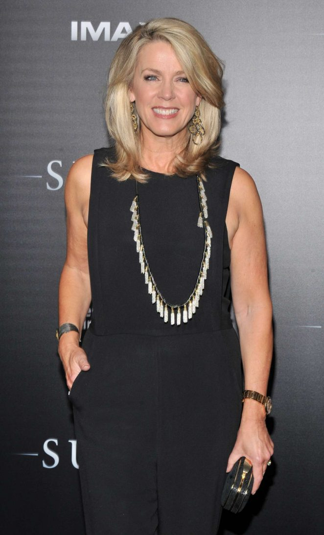 Deborah Norville - 'SULLY' Premiere in New York