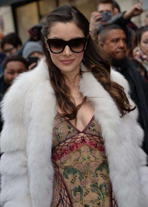 Deborah Valdez Hung - Jean-Paul Gaultier Fashion Show 2017 in Paris