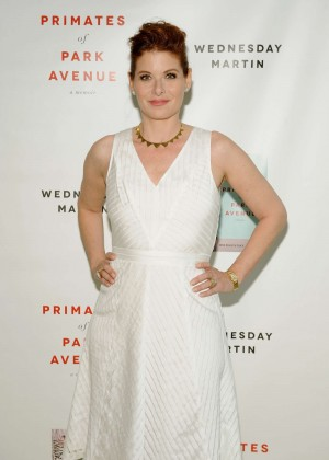 Debra Messing - 'Primates of Park Avenue' by Dr. Wednesday Martin Release Event in NYC