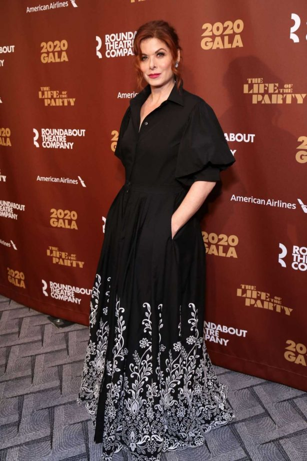 Debra Messing - Roundabout Theater's 2020 Gala in NYC