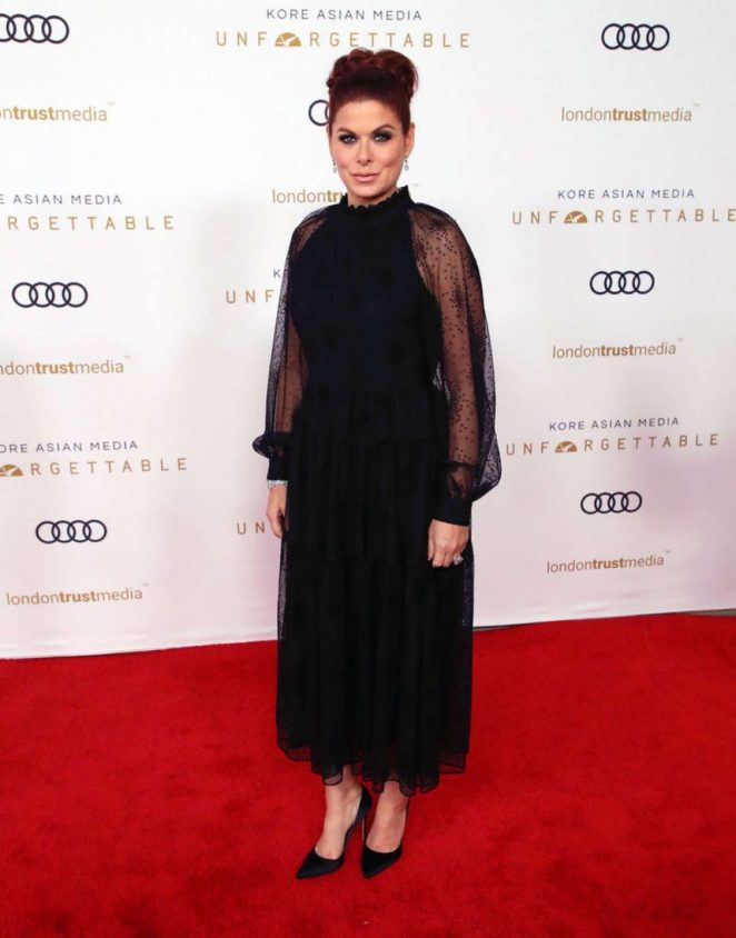 Debra Messing – Unforgettable Gala In Beverly Hills
