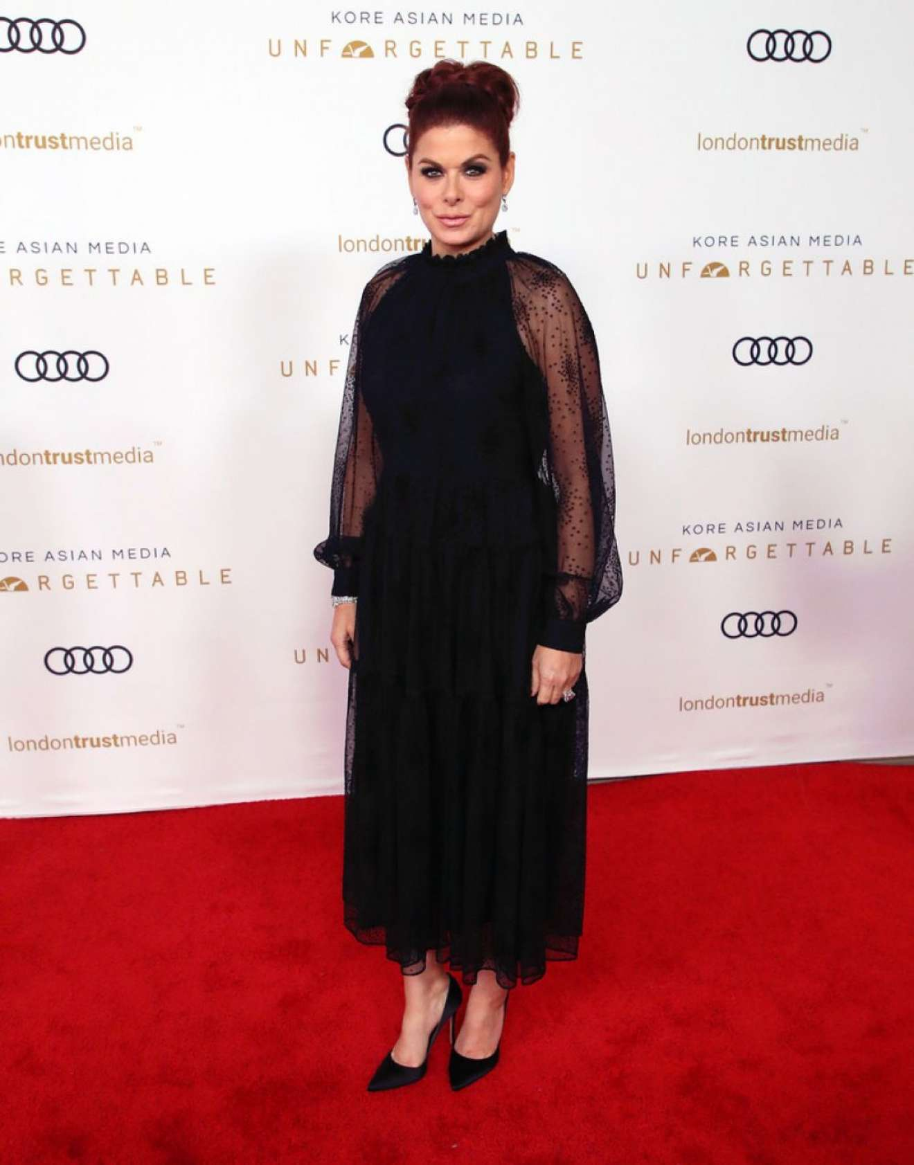 Debra Messing – Unforgettable Gala In Beverly Hills