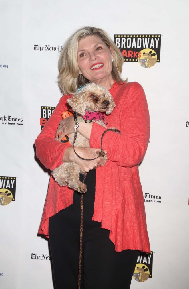 Debra Monk - 19th Annual Broadway Barks Animal Adoption Event in NY