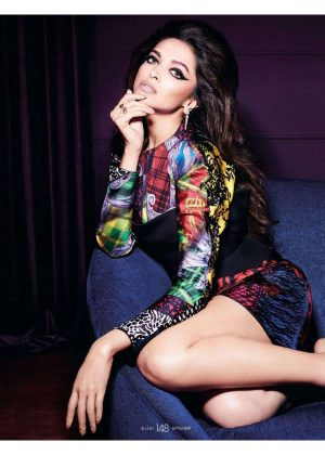 Deepika Padukone for Elle India Magazine (September 2018)