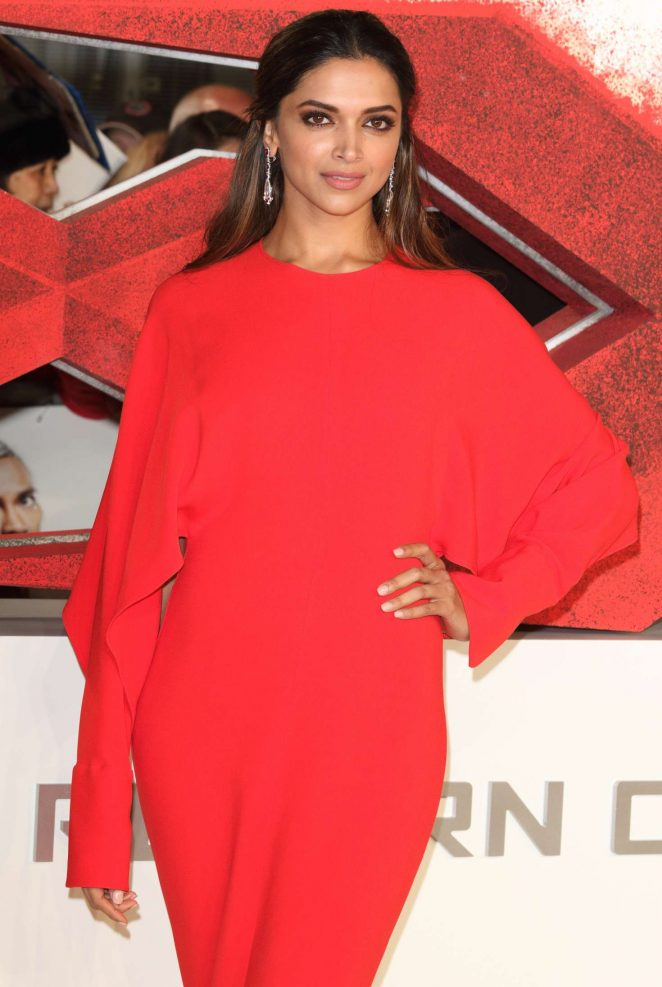 Deepika Padukone - 'xXx': Return of Xander Cage' Premiere in London