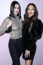 Delilah and Amelia Hamlin - boohoo x All That Glitters Launch Party in Los Angeles
